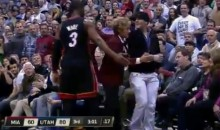 Dwyane Wade Has Heckling Jazz Fan Ejected From Game (Video)