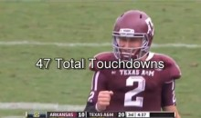 Johnny Manziel's 47 Touchdowns In One Video