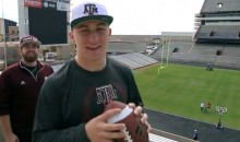 The Latest Video From 'Dude Perfect' Features Johnny Manziel (Video)