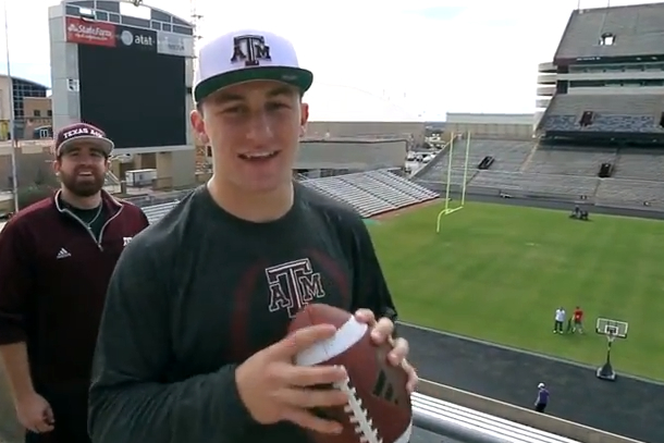 johnny manziel dude perfect