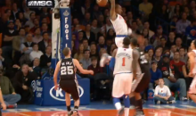 J.R. Smith's Ridiculous Reverse Alley-Oop Dunk (Video)