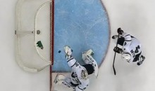 Kari Lehtonen Makes Great Backhanded, Behind-the-Back Glove Save (Video)