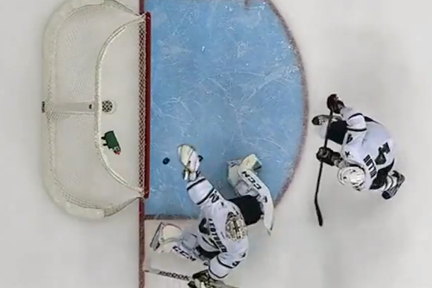 kari lehtonen backhanded save