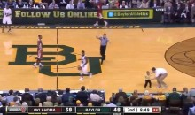 Child Runs onto Court During Baylor-Oklahoma Basketball Game, Does Not Get Tackled by Security (Video)