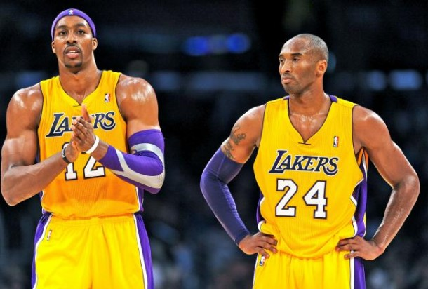 kobe dwight howard lakers