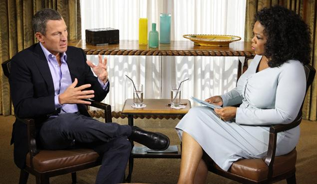 lance and oprah interview
