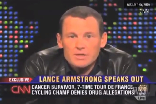 lance armstrong doping denials