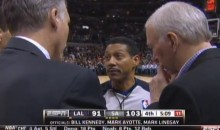 NBA Ref Caught on Camera Asking Coaches to Help Him Stall for TV Commercials (Video)