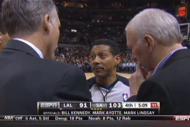 nba ref timeout fail
