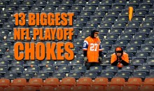 13 Biggest NFL Playoff Chokes