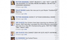 NFL Quarterbacks Conversation On Facebook (Divisional Weekend)