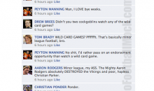 NFL Quarterbacks Conversation On Facebook (Wild Card Weekend)