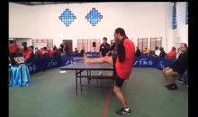 Dude With No Arms Plays Table Tennis With His Mouth And Feet (Video)