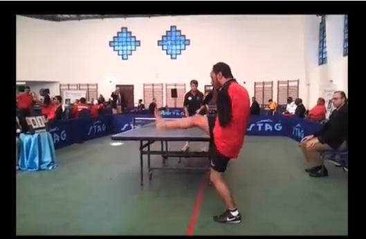 no arms ping pong