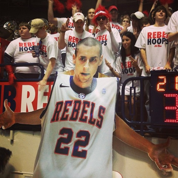 ole miss fans marshall henderson sign