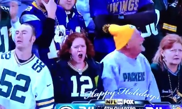 packers fan cheer