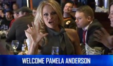 Pam Anderson Was at the Canucks Game Last Night, and NHL.com Thinks You Care (Video)