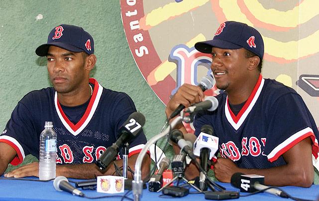 pedro and ramon martinez - baseball brothers same team