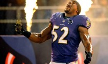 Ravens' Ray Lewis Did His Dance Not Once, But Twice During Final Home Game (GIFs & Video)