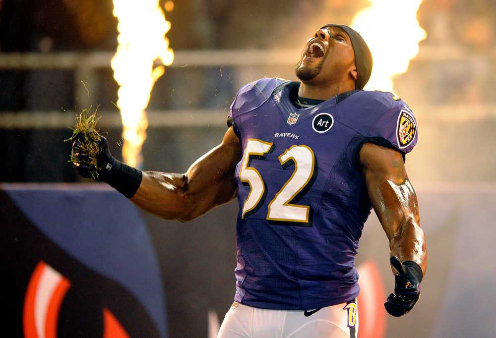 Ravens' Ray Lewis Did His Dance Not Once, But Twice During ...