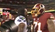 Richard Sherman Was Mic'd Up When He Got Smacked By Trent Williams (Video)