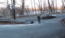 Teen Skateboarder Comes Inches Away From Death (Video)