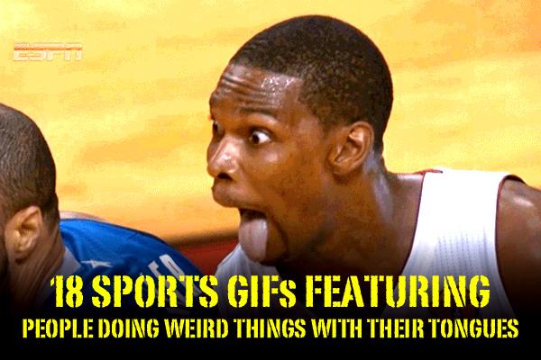 sports tongue gifs