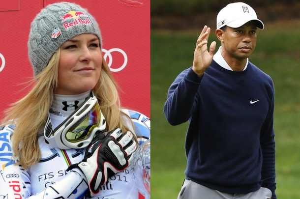 Tiger woods and lindsey vonn still dating