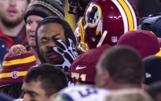 trent williams punch richard sherman