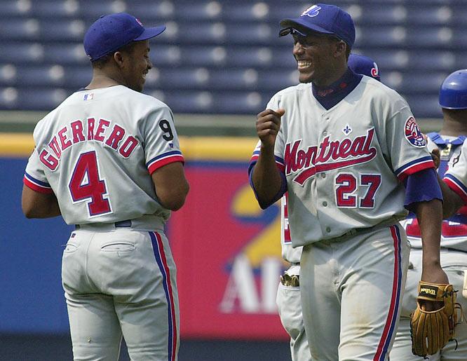 vladimir guererro and wilton guererro - baseball brothers same team