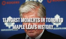 11 Worst Moments in Toronto Maple Leafs History