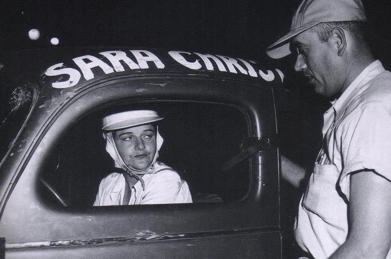 1 Sara Christian - first female driver in NASCAR