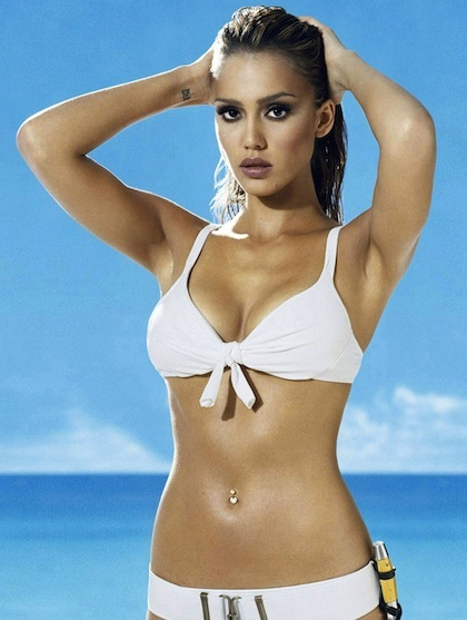 1 jessica-alba-derek-jeter-girlfriend - biggest ladies men in sports