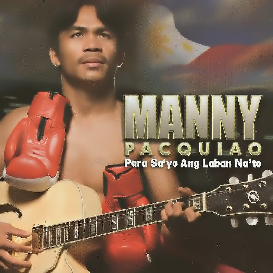 1 manny pacquiao album cover - athletes who were musicians