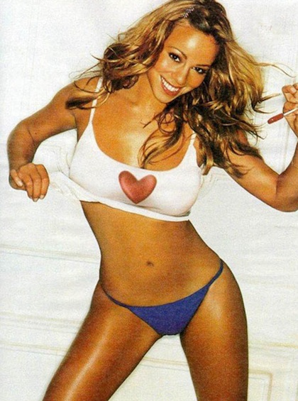 1 mariah carey (Jeter girlfriend) - biggest ladies men in sports