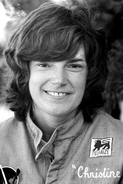 10 christine beckers - female NASCAR drivers