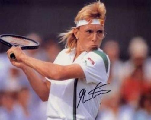 11 martina navratilova - sports mullets