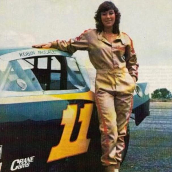 12 robin mccall - female nascar drivers