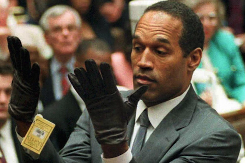 2 o.j. simpson gloves - sports muders
