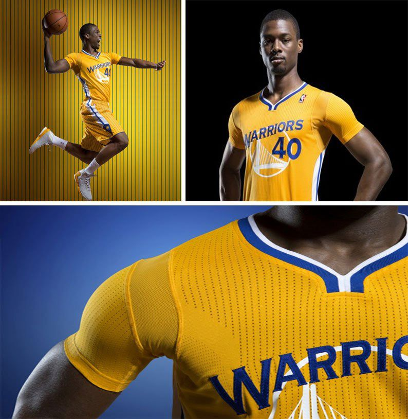 2 warriors uniforms with sleeves - worst sports uniform innovations