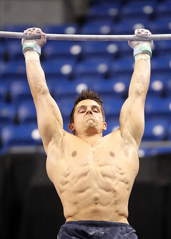 22 chris brooks (olympic gymnast) - fittest bodies in sports