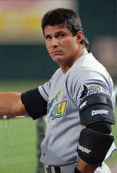 22 jose canseco - sports mullets