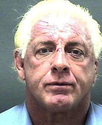 23 ric flair mug shot - sports mug shots