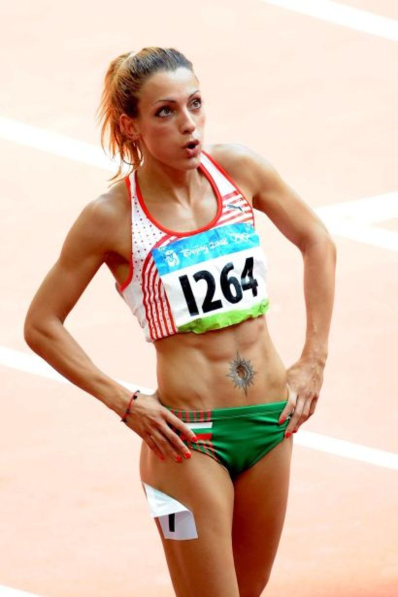 24 ivet lalova - fittest bodies in sports