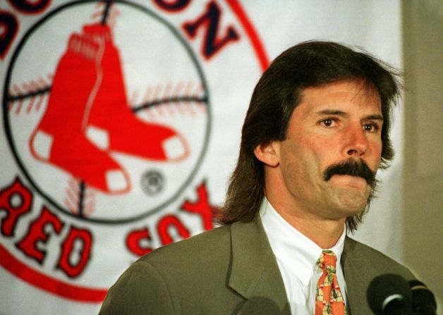 27 dennis eckersley - sports mullets