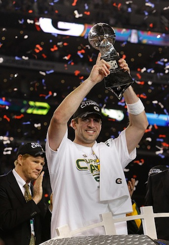 29 aaron rodgers - super bowl winning quarterbacks