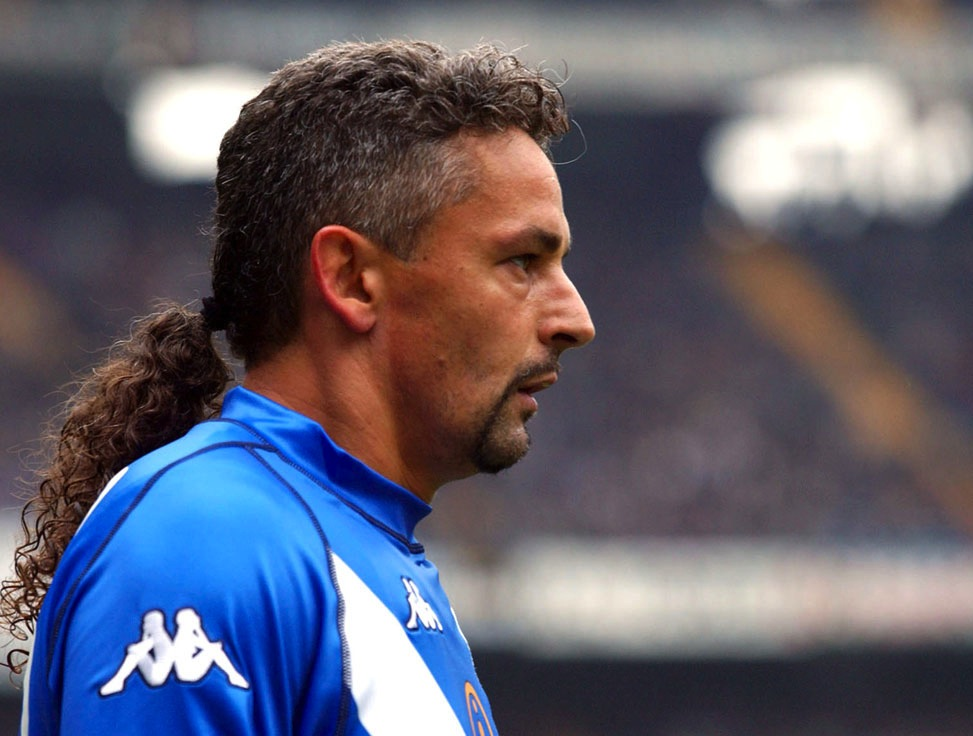 3 roberto baggio - sports mullets