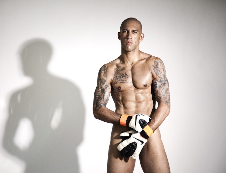 31 tim howard (goalie) - fittest bodies in sports