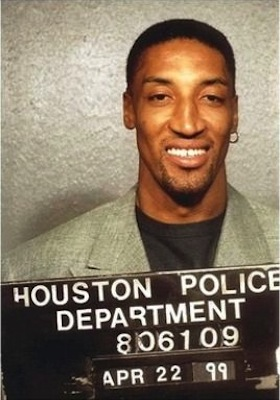 34 scottie pippen mug shot - sports mug shots
