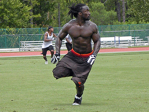 38 greg jones (jaguars) - fittest bodies in sports
